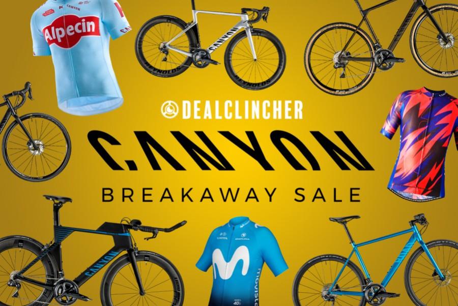 Canyon Breakaway Sale - Big Bike Discounts | Cycling deals