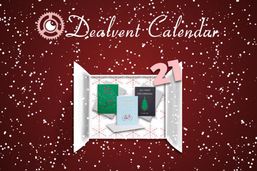 Deal-vent Calendar: December 21 - Cycling Christmas Cards | Cycling ...